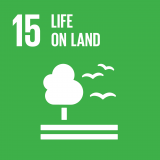 Goal 15: Sustainably manage forests, combat desertification, halt and reverse land degradation, halt biodiversity loss