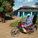 Moto-ambulance, ZS Budjala, RDC  © Enabel