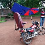 Moto-ambulance du CS Bowara, ZS Bwamanda, RDC © Enabel