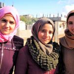 Female architects of Gaza public gardens © UNWomen / Eunjin Jeong