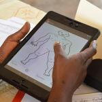 Participants in a PHR training course in Kenya learn how to use the MediCapt mobile application co-funded by Wehubit in DRC © Physicians for Human Rights, PHR